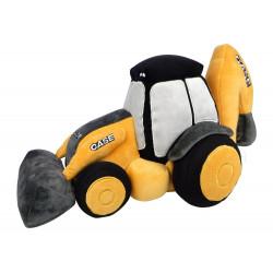 Peluche tracteur CASE Tracto-pelle