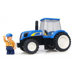 TRACTEUR NEW HOLLAND + Personnage UHK1200 UNIVERSAL HOBBIES