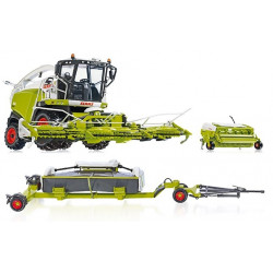 Pack ENSILEUSE CLAAS JAGUAR 860 + direct disc 520 W7812 W7825 WIKING 1/32