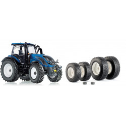 TRACTEUR VALTRA T214 + pneus NOKIAN WIKING 1/32