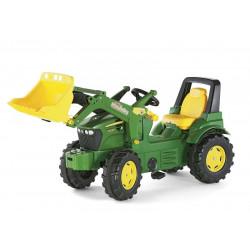 rolly®toys Tracteur enfant avec pelle rollyFarmtrac John Deere 710027