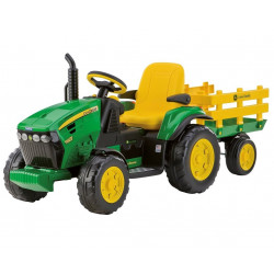 TRACTEUR électrique JOHN DEERE GROUND FORCE OR0047 PEG PEREGO