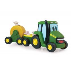 Johnny le tracteur et son attelage musical 35089 TOMY