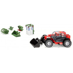 MANITOU MLT 840 + accessoires Bressel & Lade 3067-3658 SIKU 1/32
