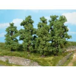 4 arbres fruitiers 11cm K1731 HEKI 1/32