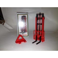 BEVRO 1/32 ELEVATEUR ARRIERE rouge/noirBEC10
