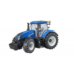 Tracteur miniature NEW HOLLAND T7.315 BRUDER 1/16