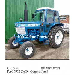 TRACTEUR MINIATURE FORD 7710 Gén1 H5334 UH 1/32