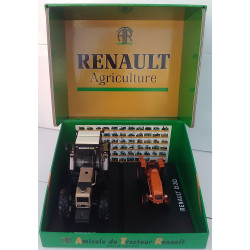 COFFRET COLLECTOR 100 ans du tracteur RENAULT RE205 REPLICAGRI 1/32