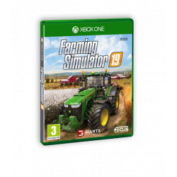 JEU XBOX ONE FARMING SIMULATOR 2019 CD00412