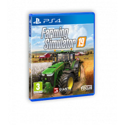 JEU PS4 FARMING SIMULATOR 2019 CD00413
