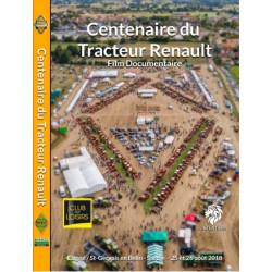 DVD 100 ANS du TRACTEUR RENAULT CD00406