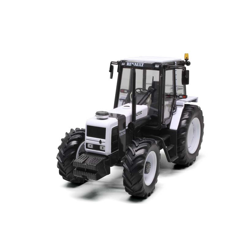 TRACTEUR MINIATURE RENAULT 110-54 Tracfor Blanc RE220
