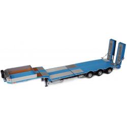 Porte engins NOOTEBOOM MCOS 48-03 Bleu-métal M1813-03 Marge Models 1/32