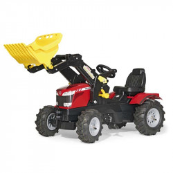 rolly®toys Tracteur enfant rollyfarm-Trac MASSEY FERGUSON pelle 7726 611140