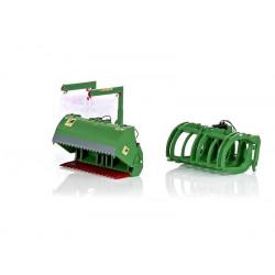 3 accessoires vert pour chargeur Wiking 1/32 W7382