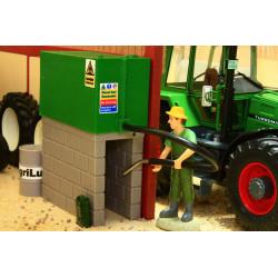 Citerne à fioul verte avec tuyau BT3054 BRUSHWOOD 1/32