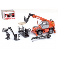 Telescopique miniature MANITOU MRT2150 turbo ROS
