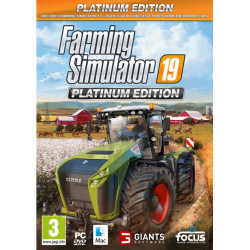 JEU PC FARMING SIMULATOR PLATINIUM 2019 CD00420