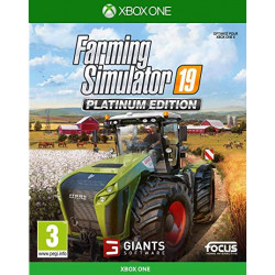 JEU XBOX ONE FARMING SIMULATOR PLATINIUM 2019 CD00418