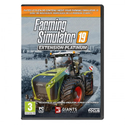 Extension PLATINIUM du JEU PC FARMING SIMULATOR 2019 CD00417