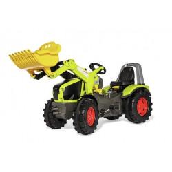 Tracteur à pédales X-Trac Prémium CLAAS AXION 950 + pelle 651092 ROLLY TOYS