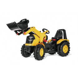 Tracteur à pédales X-Trac Prémium CAT + pelle 651115 ROLLY TOYS