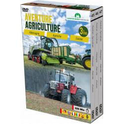 PACK 3 DVD Agriculture ALLEMAGNE-AUTRICHE-SUISSE CD00407