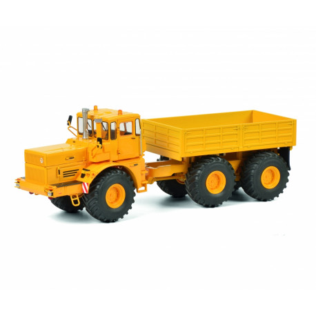 TRACTEUR MINIATURE KIROVETS K-700 T remorque SCHUCO 450770800