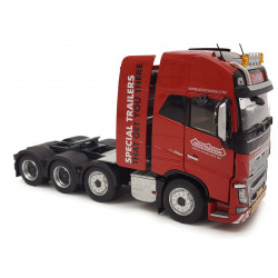 Camion miniature VOLVO FH16 8x4 Rouge NOOTEBOOM M1915-02-01 Marge Models 1/32