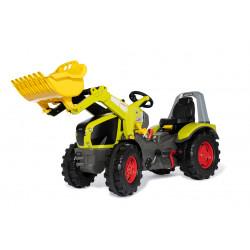 Tracteur à pédales X-Trac Prémium CLAAS AXION 960 + pelle + vitesse + frein 651122 ROLLY TOYS