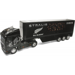 Semi-remorque IVECO Stralis ALL BLACKS 10323 NEW-RAY 1/32