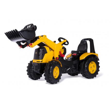 Tracteur à pédales X-Trac Prémium JCB Pelle 651139 ROLLY TOYS
