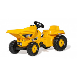 TRACTEUR A PEDALE RollyKid DUMPER CAT 024179 ROLLY TOYS