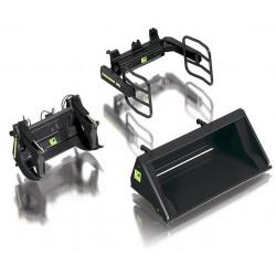 3 accessoires noirs pour chargeur Wiking 1/32 W7385