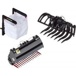 3 accessoires noirs pour chargeur Wiking 1/32 W7386