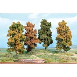 4 Arbres automne 18cm K2001 HEKI 1/32