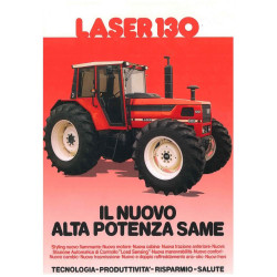 TRACTEUR MINIATURE SAME Laser 130 T0136 ROS 1/32