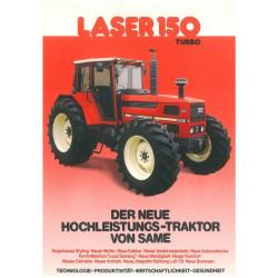 TRACTEUR MINIATURE SAME Laser 150 T0137 ROS 1/32