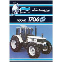 TRACTEUR MINIATURE LAMBORGHINI 1706 Turbo T0139 ROS 1/32