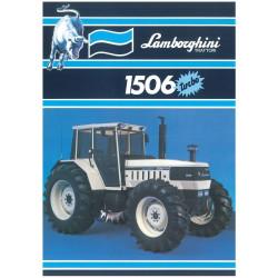 TRACTEUR MINIATURE LAMBORGHINI 1506 Turbo T0138 ROS 1/32
