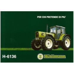 TRACTEUR MINIATURE HURLIMANN F-6136 T0140 ROS 1/32