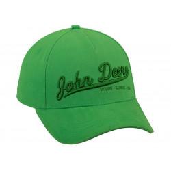 CASQUETTE JOHN DEERE 3D Green MCL201919011