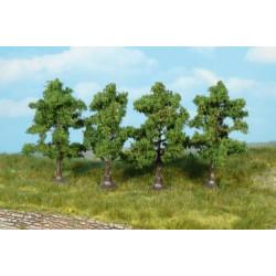 5 arbres fruitiers 7cm K1965 HEKI 1/32