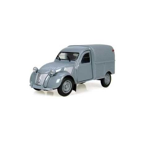 CITROEN 2CV camionette grise H6501 UH 1/32