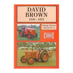 LIVRE VINTAGE TRACTORS DAVID BROWN 1939-1972 LI00124