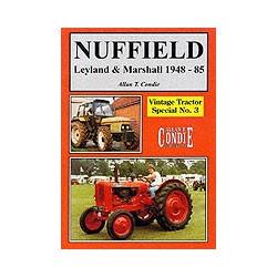 LIVRE VINTAGE TRACTORS NUFFIELD Leyland & Marshall 1948-45 LI00125
