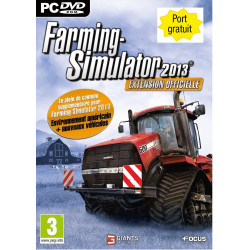 JEU PC FARMING SIMULATOR 2013 EXTENSION CD00375