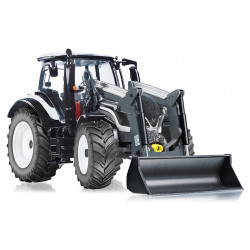 TRACTEUR VALTRA T174 CHARGEUR W7815 WIKING 1/32
